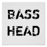 Bass Head poster
