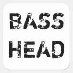 Bass Head sticker
