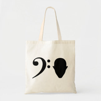 Bass Head Tote Bag