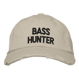 BASS HUNTER BASEBALL CAP