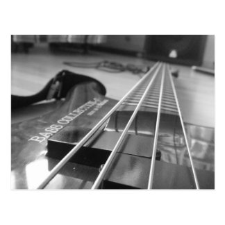Bass in Black Postcard