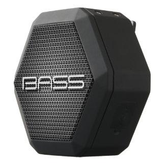 """Bass Is Boss"" Double Mesh Graphic 2 Boombot Rex Black Bluetooth Speaker"
