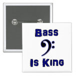 Bass is King Button