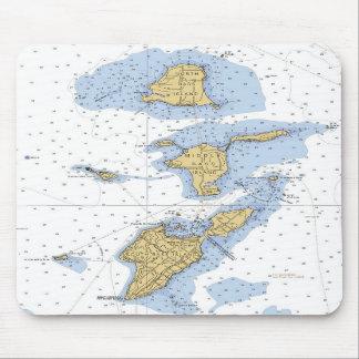 Bass Islands, OH  Erie Nautical Chart Mousepad