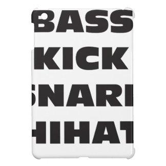 Bass Kick Snare HiHat iPad Mini Covers