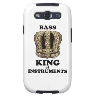 Bass King of Instruments Samsung Galaxy S3 Cases
