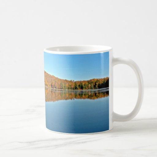 Bass Lake 3 - Wisconsin Classic White Coffee Mug