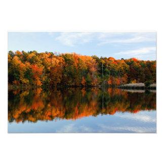 Bass Lake Fall Splendor Photo Print