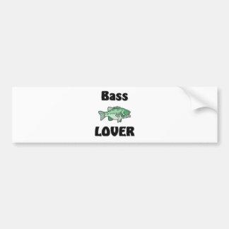 Bass Lover Bumper Sticker