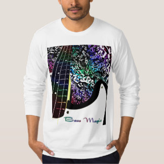 Bass Magic Psychedelic Rainbow Music T-Shirt