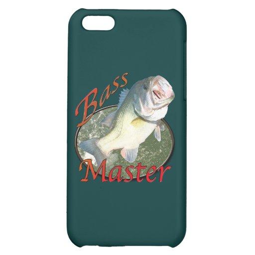 Bass master iPhone 5C cases