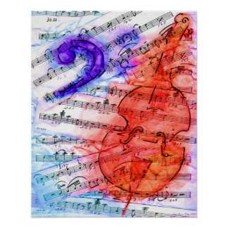Bass Music Cut Sheet - Print