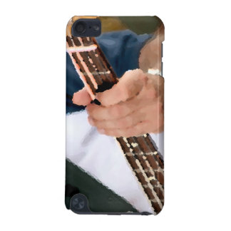bass painterly player hand on neck male photograph iPod touch 5G cases