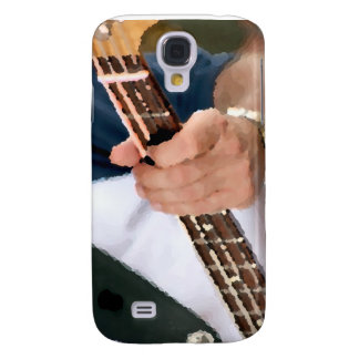 bass painterly player hand on neck male photograph samsung galaxy s4 case