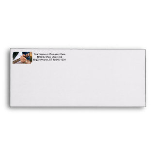 bass painterly player hand on neck male photograph envelope