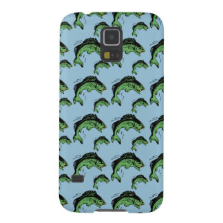 Bass Pattern Blue Cases For Galaxy S5