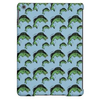 Bass Pattern Blue iPad Air Case