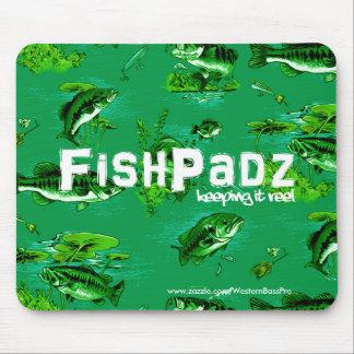 Bass Pattern Mouse Pad