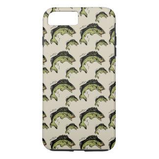 Bass Pattern Tan iPhone 7 Plus Case