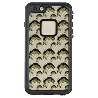 Bass Pattern Tan LifeProof FRĒ iPhone 6/6s Plus Case