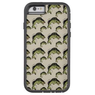 Bass Pattern Tan Tough Xtreme iPhone 6 Case