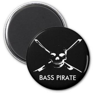 BASS PIRATE Magnet