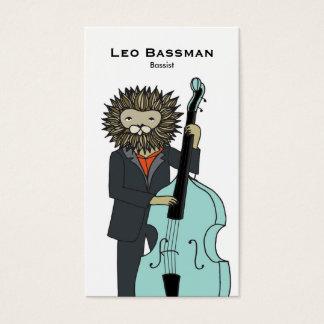 Bass Player Business Card