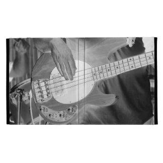 bass player bw invert four string bass hands drumm iPad cases