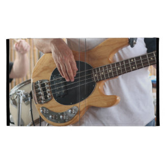 bass player four string bass hands drummer backgro iPad cases