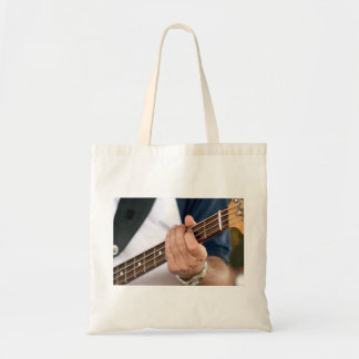 bass player hand on neck male photograph.jpg tote bags