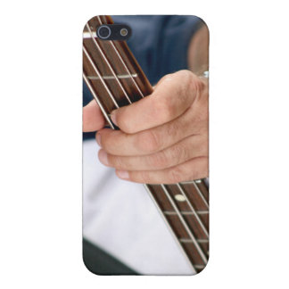 bass player hand on neck male photograph jpg case for iPhone 5
