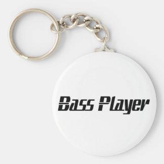 Bass Player Keychain