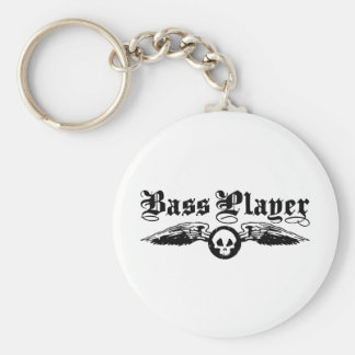 Bass Player Keychain