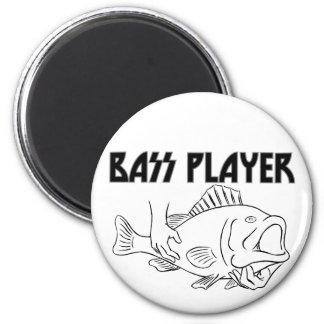 Bass Player Magnet
