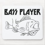 Bass Player Mousemat