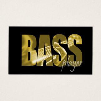 Bass Player Musician Business Card