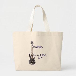 Bass Player Original design Canvas Bag