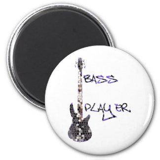 Bass Player Original design! Magnet