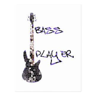 Bass Player Original design! Postcard
