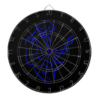 bass player outline male blue.png dart board