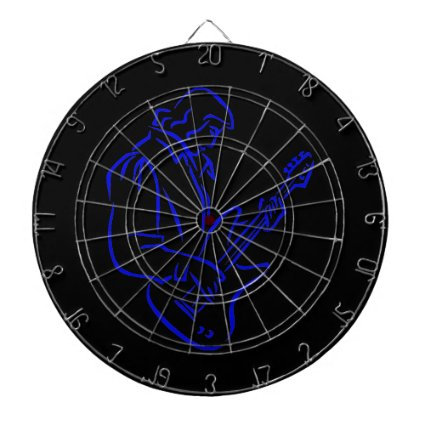 bass player outline male blue.png dart boards