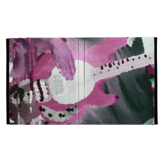 bass player painterly invert mag four string bass iPad cases