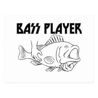 Bass Player Postcard