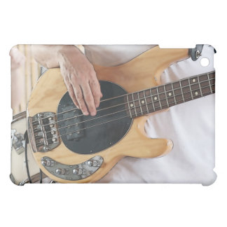 bass player posterized four string bass hands .jp cover for the iPad mini