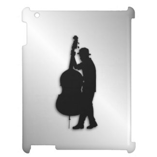 Bass Player Silver iPad Cover