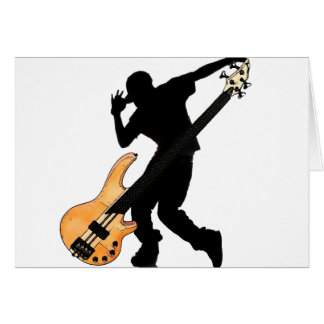Bass Player Swag Card