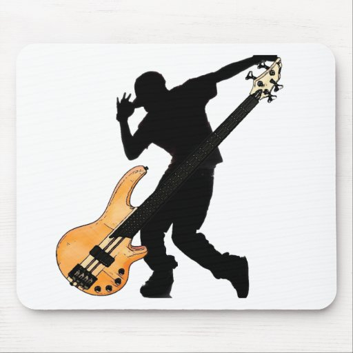 Bass Player Swag Mouse Pad