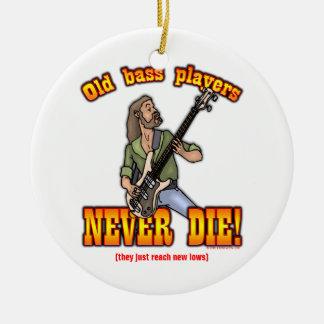 Bass Players Christmas Ornament