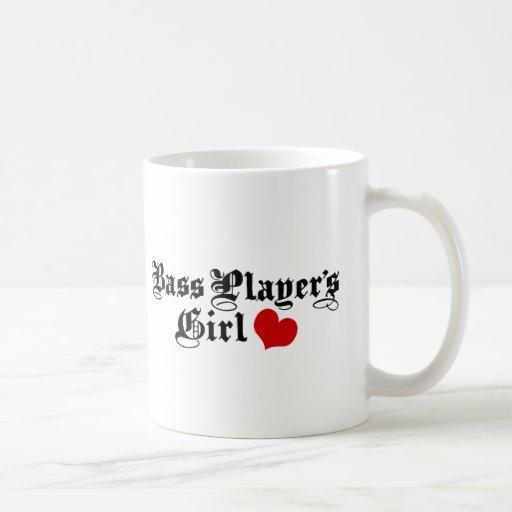 Bass Players Girl Classic White Coffee Mug