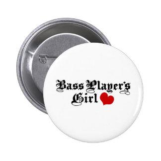 Bass Players Girl Pin